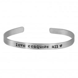Love Conquers All Cuff