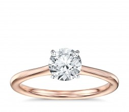 Ladies 1/3ct Solitaire Engagement Ring