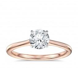 Ladies 1/3ct Solitaire Engagement Ring