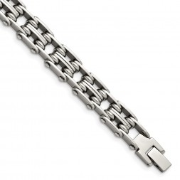 Stainless Steel Polished 8.75in Bracelet