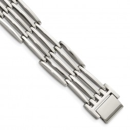 Stainless Steel Polished 8.5in Bracelet