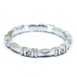 Designer Diamond Band (.07ctw)