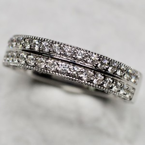 Ladies' Two Row Diamond Band (.49ctw.)