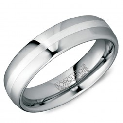 A Tungsten Torque Band With A Brushed Center.