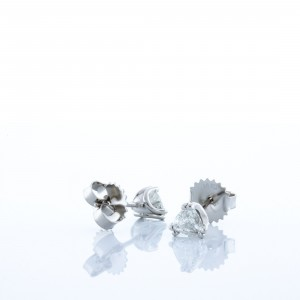 Diamond Trillion Studs (.48ctw.)