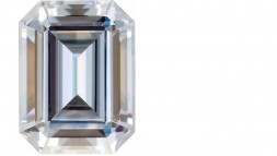 9x7 Emerald Cut Moissanite (2.50ct)