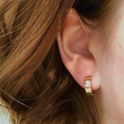 Chubby Hoop Earrings (14kt)