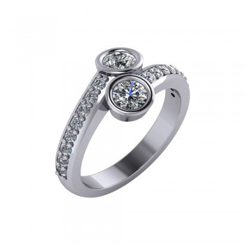 2 Stone Rings - On Trend for Spring